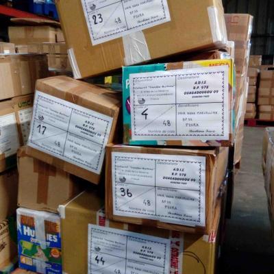 Envoi container