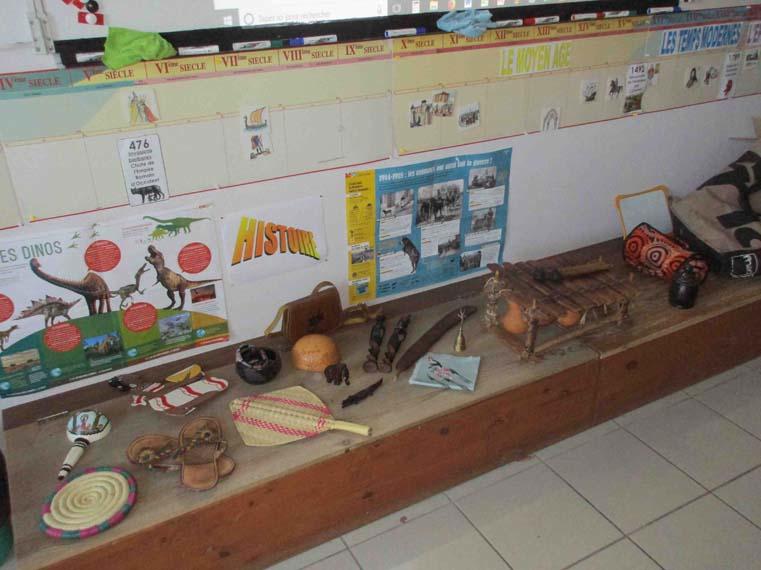 Présentation des objets du Burkina